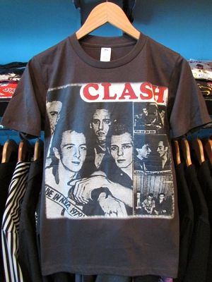 S/STシャツ THE CLASH LIVE IN N.Y.C