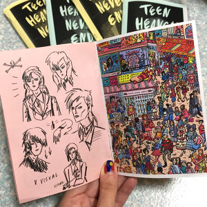「TEEN HEAVEN NEVER ENDS」 ZINE