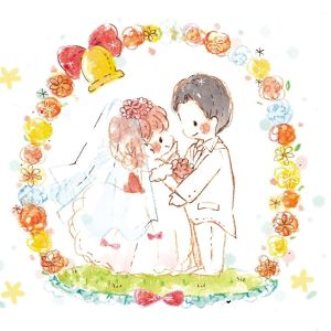 Makita-Wedding illust-