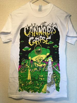 "Cannabis Corpse ""VAPOTIZED"" Tシャツ"