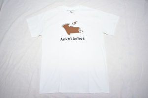 Ankhl Aches / Logo−tee [brown]