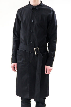 17AW Cotton Shirt Coat