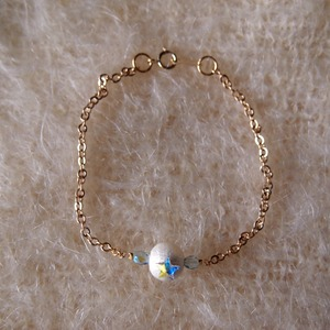 Point Star Bracelet (LIGHT BLUE)