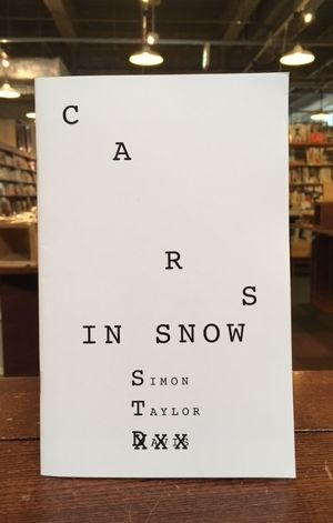 【ZINE】CARS IN SNOW