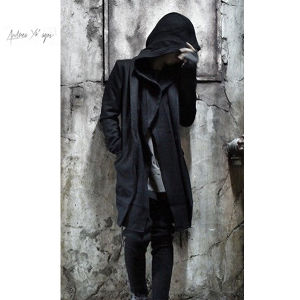 ANDREA YA'AQOV Layered Coat With Hoodie
