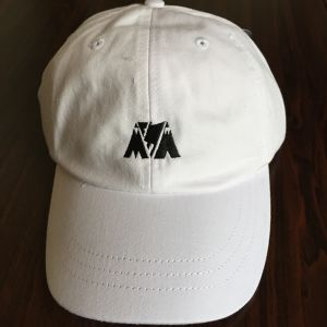 "McMamWell x ADAM'S HAT 6panel Cap ""WHITE"""