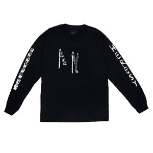 HERESY HOP PICKERS L/S TEE ( BLACK )