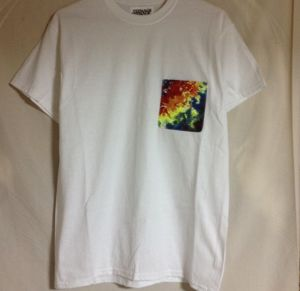 TIE DYE POCKET T-SHIRTS