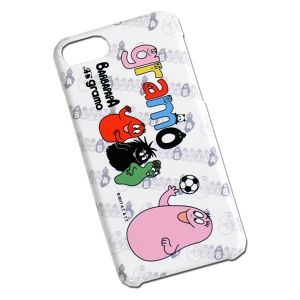 BARBAPAPA×gramo コラボ iPhone7専用ケース「choice!」(lesson/SPC-021)