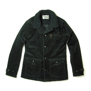 015001003(ST-CORD RANCH JACKET)BLACK