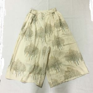 "NR1505  TROUSERS WITH SIDE GATHERS  ""green tree"""