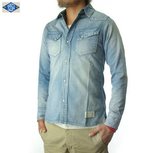 017003001(DENIM WESTERN SHIRTS)USED-2