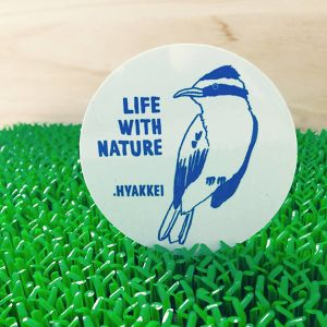 .HYAKKEI sticker【LIFE WITH NATURE<Bird>】