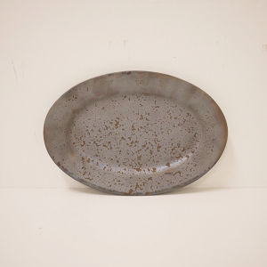OVAL PLATE - S / ONE KILN CERAMICS