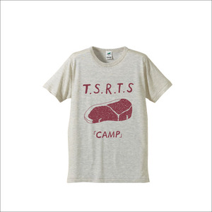 "【SALE】Tシャツ ""CAMP"" / オートミール"