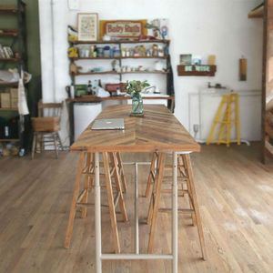 - One of a Kind -  Used Reclaimed Counter Table