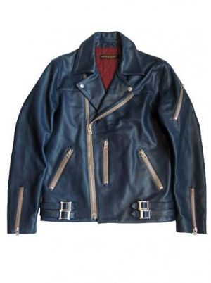 LONDON CLASSICS RIDERS JACKET(Navy)