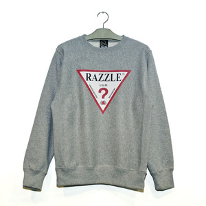 RAZZLE / THINK CREW NECK / GREY