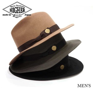 HIGHER / WIDE BRIM FELT HAT