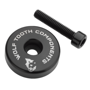 Wolf Tooth Ultralight Stem Cap with Integrated Spacer