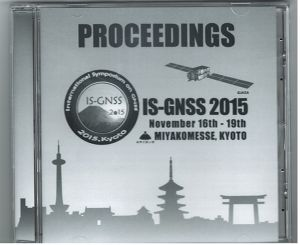 IS-GNSS2015 Proceeding DVD
