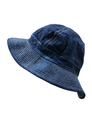 【再入荷!】orSlow US NAVY HAT UNISEX (81W )DENIM