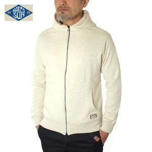 017005001(FREEDOM SLEEVE ZIP STAND PARKA)NATURAL
