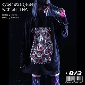 "SH11NA×D/3 ""NIGHT VISION"" 拘束ジャージ cyber straitjersey jersey with SH11NA"