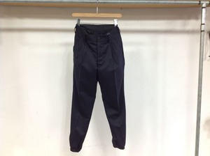"30%OFF ALLEGE ""RIB TUCK SLACKS NAVY"""