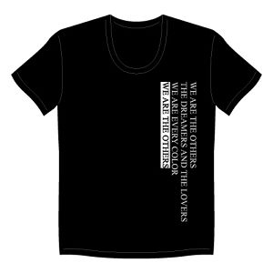 """THE OTHERS"" T-SHIRTS Black"