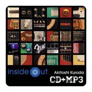 Inside Out / 黒田晃年 (CD+MP3)