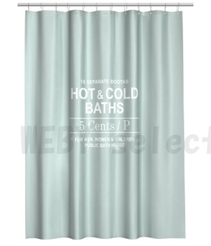 H&M HOME シャワーカーテン <HOT&COLD>