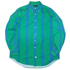 """Polo Ralph Lauren"" Stripe Shirt Used"