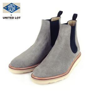 017008001(NAKED SUN × UNITEDLOT SUEDE SIDE GORE BOOT)GRAY