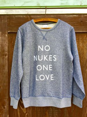 【NEW】NO NUKES ONE LOVE Sweat