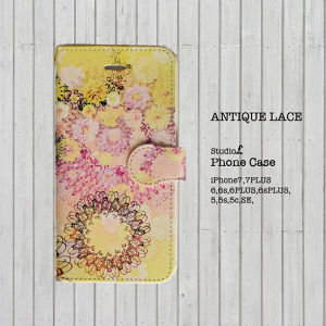 iPhone専用ケース/AntiqueLace