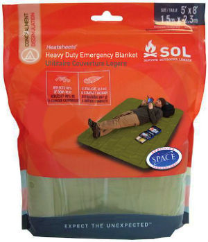 SOL / Super Heatsheets Heavy Duty Emergency Blanket