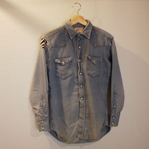 RANCHCRAFT 1960's Denim western shirt