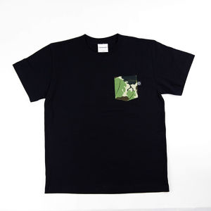 INTERFACE LEAF CAMO POCKET TEE
