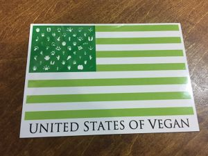 UNITED STATES OF VEGAN  マグネットシート