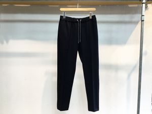 "FLISTFIA""Wool Relaxed Trousers Navy"""