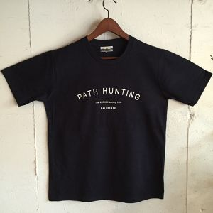 BALLONER TEE   PATH HUNTING / NAVY