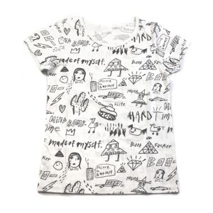 DISKAH FULL PRINT T-SHIRTS (Ladies)