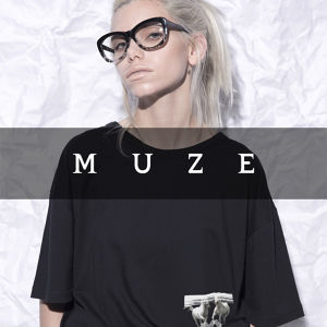 MUZE T-SHIRTS - HORSE - (BLACK)
