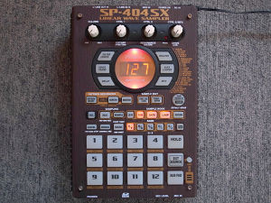 "Roland SP-404SX ""Wenge"" custom by ghostinmpc"