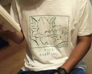 T.B.Brothers「TB Race Babbling Tee」