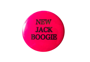 Button Badge (pink)