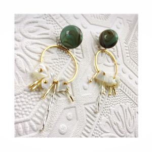 【R3021】hoop shell  pierce