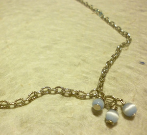 Cats'-eye necklace