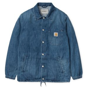 CARHARTT カーハート DENIM COACH JACKET - Blue (true stone)